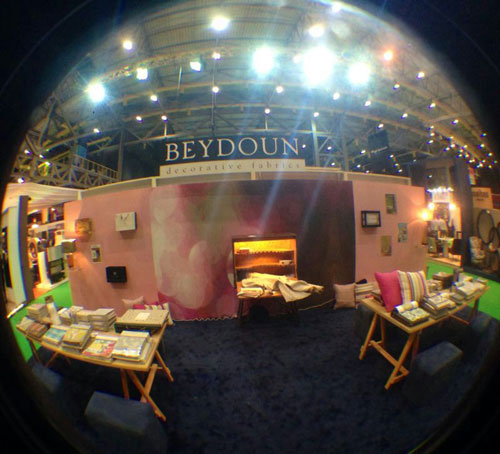 Beydoun Fabrics at the The Art of Living Exhibition - Beirut