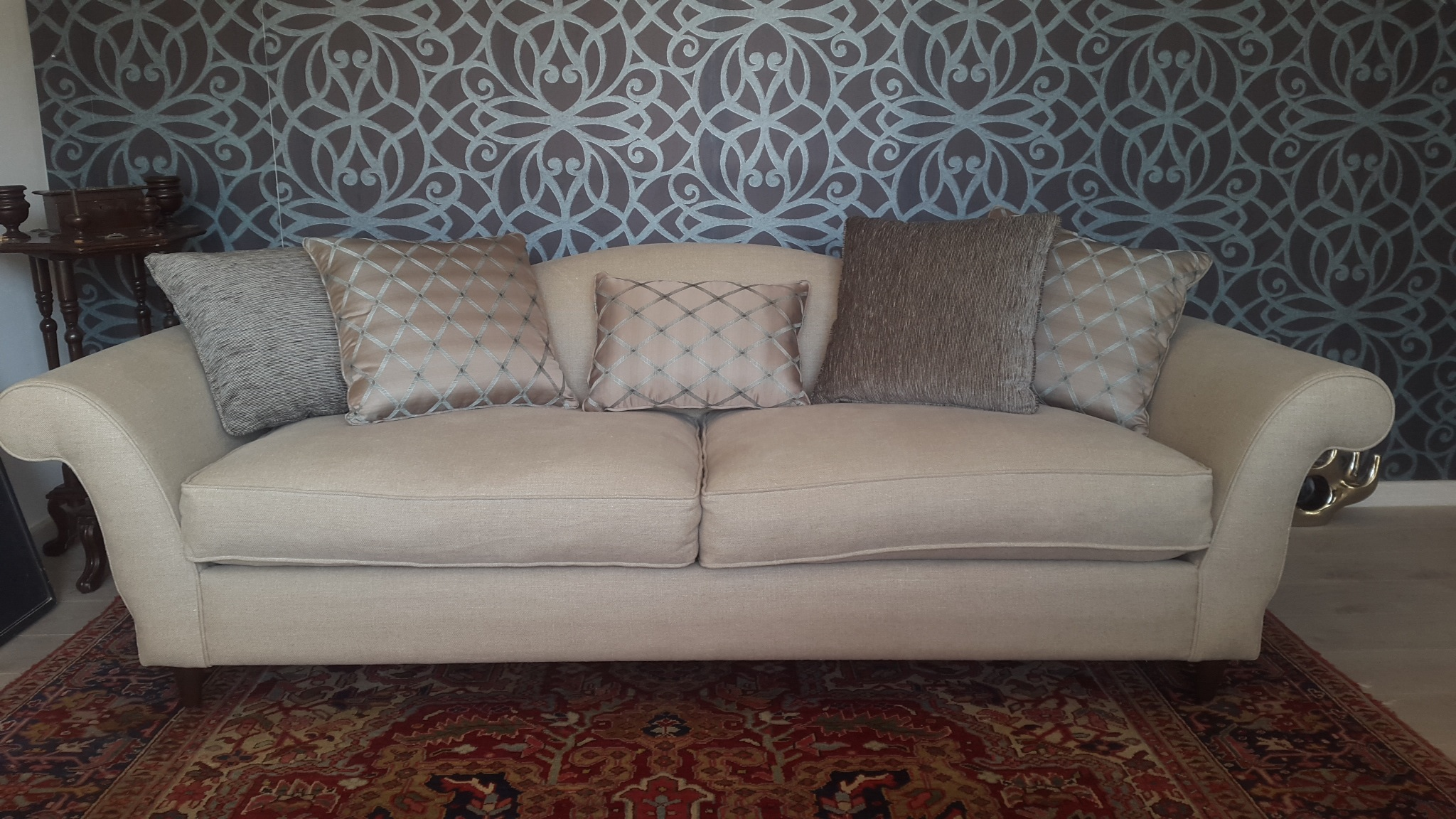 revamp chippendale sofa